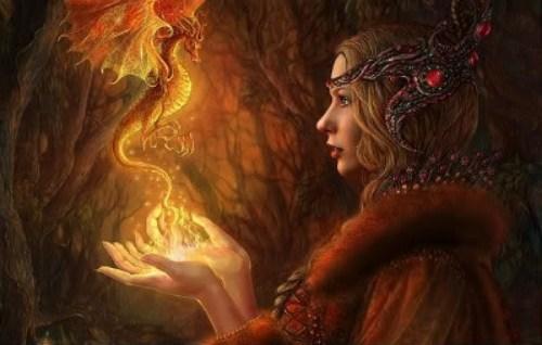 Dragon fuego maga