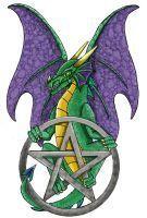 pentáculo-y-dragón