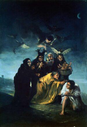 El Martirio de las Brujas: La Mujer «Maléfica»