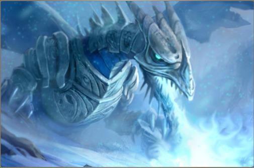 dragon dehielo