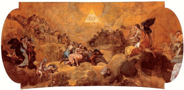 Adoration_of_the_Name_of_God_by_Goya