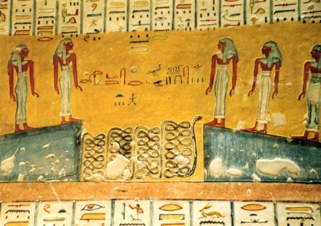 Grabmalereien