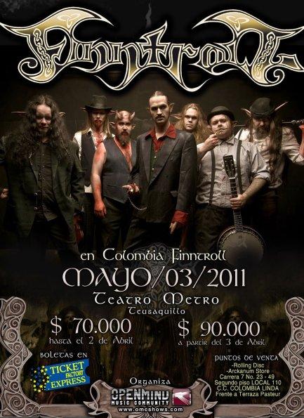 FINNTROLL en colombia 2011