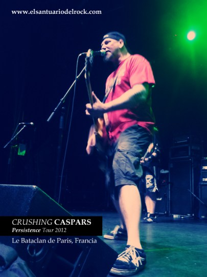 CRUSHING CASPARS perssistence tour 2012