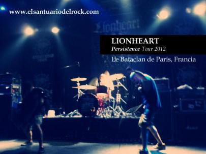 LIONHEART Persistence Tour 2012