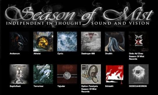 Inquisition artista Season of Mist