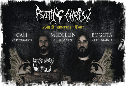 Rotting Christ en Colombia 2013