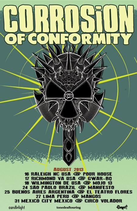 Corrosion Of Conformity latinoamerica 2013