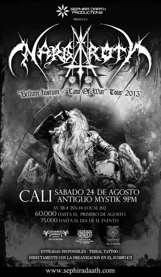 NARGAROTH cali colombia 2013