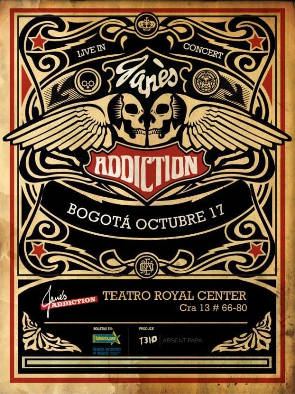 Jane's Addiction colombia bogota 2013
