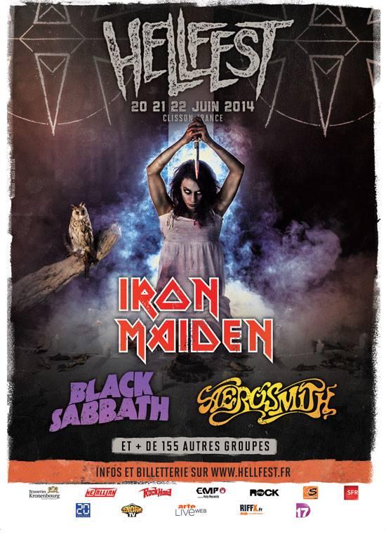 hellfest 2014 iron maiden black sabbath