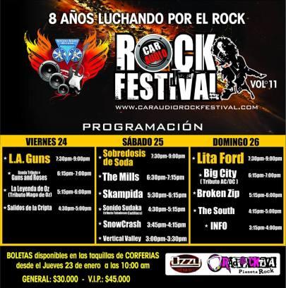 programacion-car-audio-rock-festival-2014