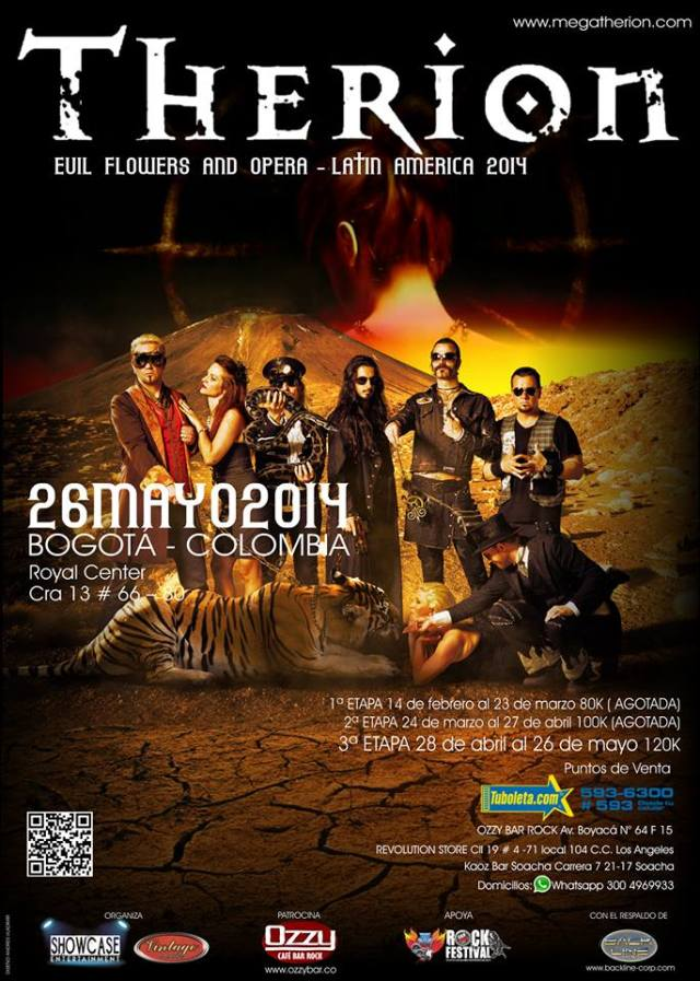 therion colombia 2014