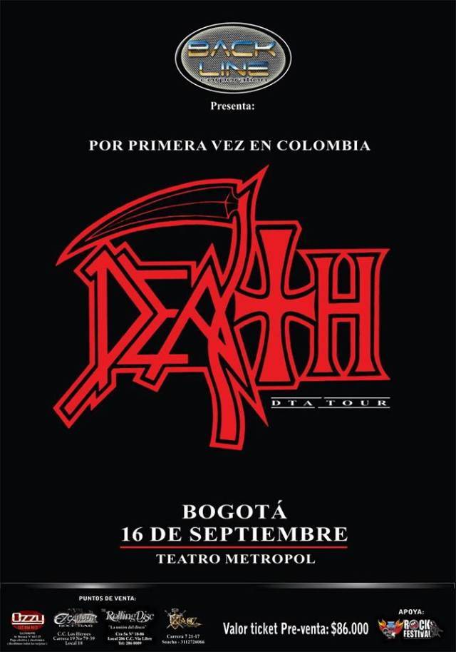 death to all colombia 2014
