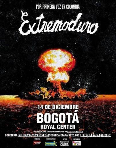 Extremoduro en Colombia