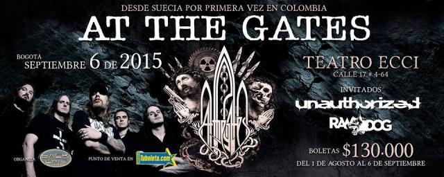 at the gates at the gates Teatro El Dorado ECCI