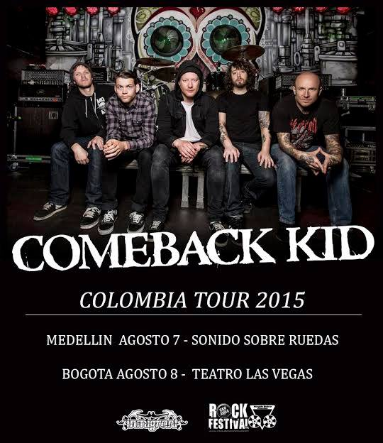 comeback kid colombia 2015