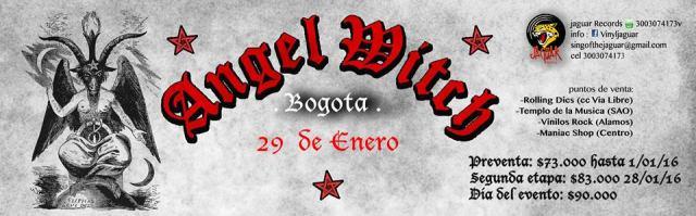 angel witch bogota