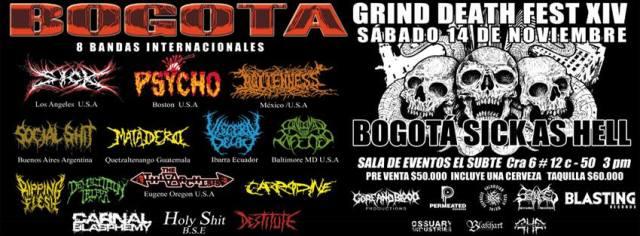 grind death fest XIV