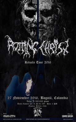 rotting christ colombia 2016