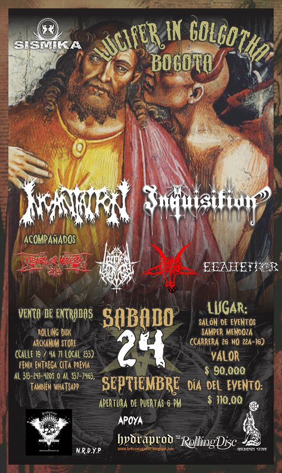 inquisition incantation bogota
