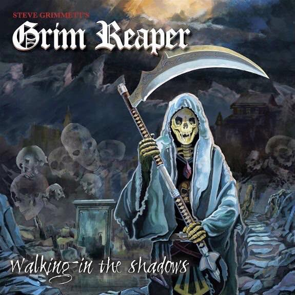 Steve Grimmett's Grim Reaper Walking In The Shadows