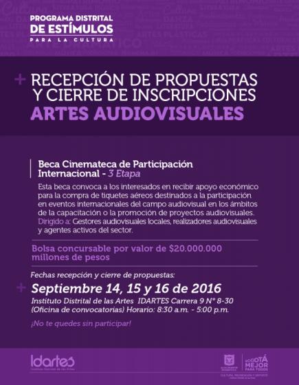 audiovisual-beca-cinemateca-participacion-internacional-idartes-2016