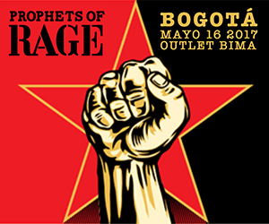 Prophets of Rage en Colombia 2017