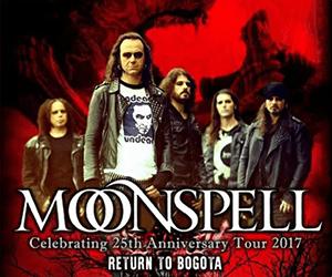 Moonspell en Colombia 2017