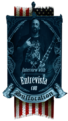 Exclusiva entrevista con Suffocation, Terrance Hoobs - A killer Metal interview with Suffocation