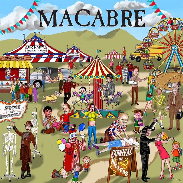 """MACABRE revela todos los detalles de su nuevo trabajo """"Carnival Of Killers"""""""