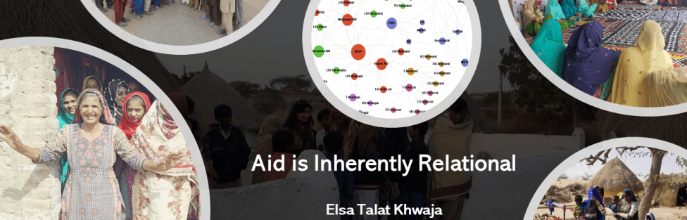 My 3MT (+2): Exploring Relational Dynamics of Aid Interventions in Pakistan and Afghanistan