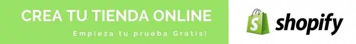 Crea tu tienda online con Shopify