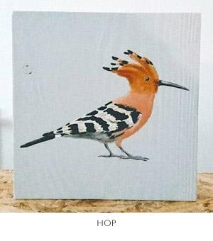 hop schilderij