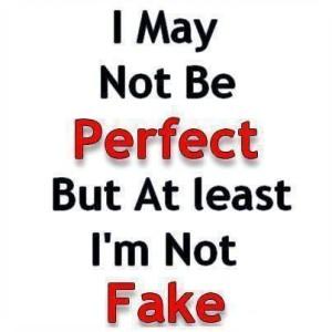 i love that i am not perfect