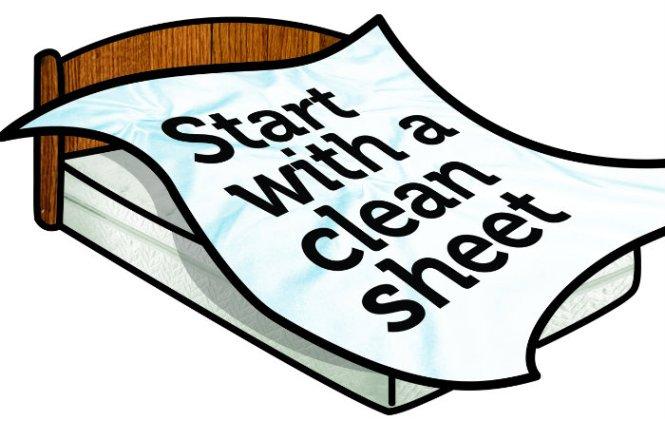 clean sheet shit