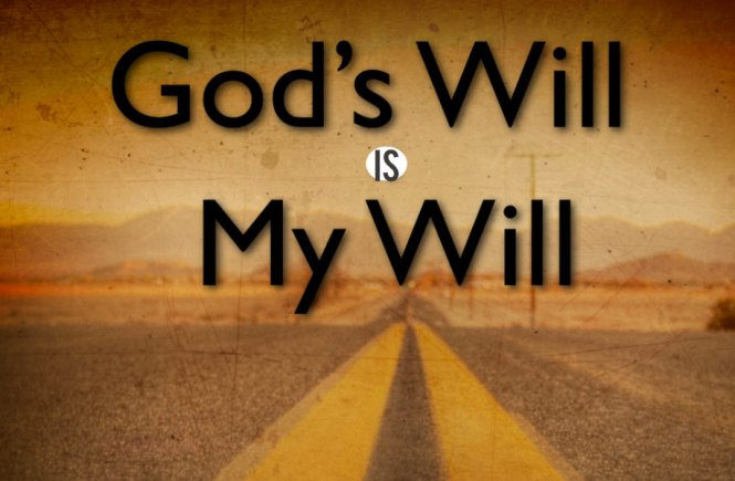 Gods will for me