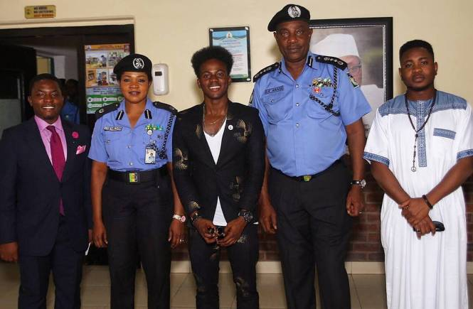 Police unveil Korede Bello as Youth Ambassador