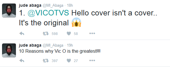 10 reasons why Vic O is the Greatest – MI Abaga