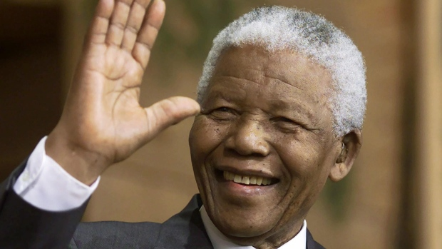 Nelson Mandela's Artwork On display In London For First Time