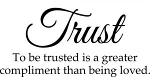 Love or Trust Which is Greater