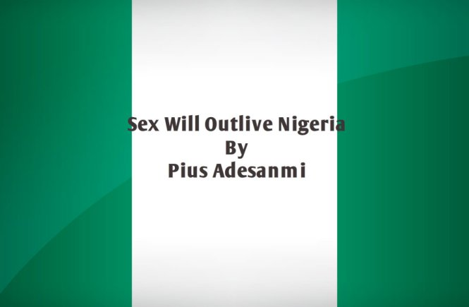 Sex Will Outlive Nigeria. By Pius Adesanmi. - elsieisy blog