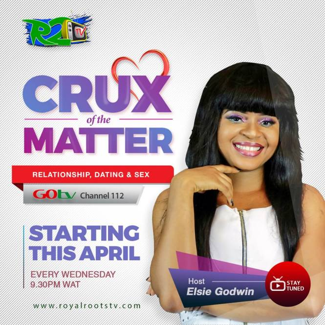 Crux of the Matter TV Show - Elsie Godwin - Elsieisy blog