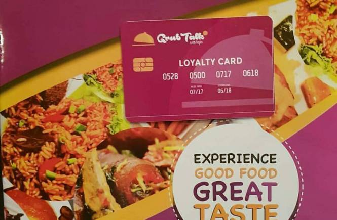 GrubTalkWithToyin Loyalty Card: How Do You Love 15% Discount on Food Forever?