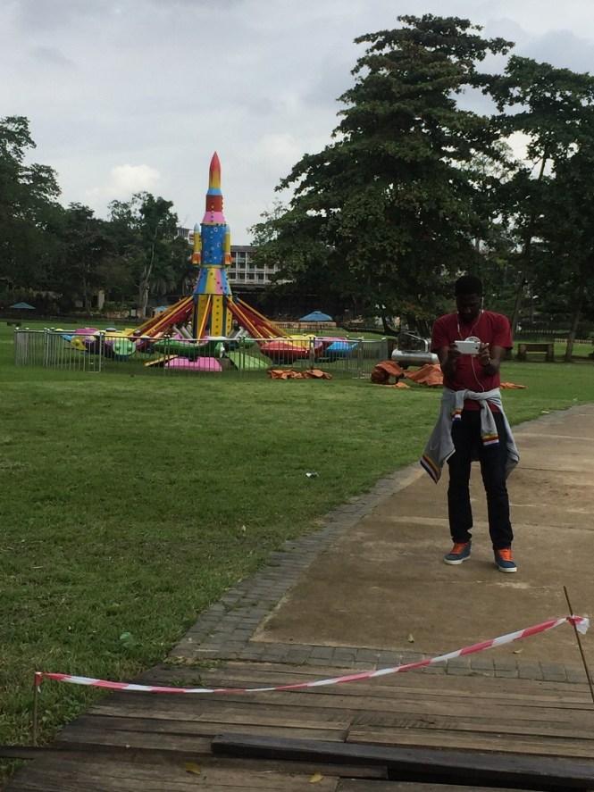 carousel - Agodi Gardens Park - Elsieisy blog - Elsie Godwin - Travel Blogger