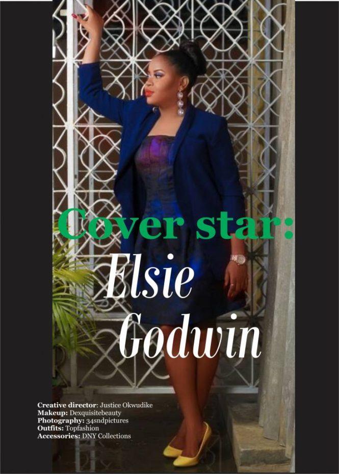 cover star - elsie godwin - TNY Magazine - The Nigerian Youth - elsieisy blog