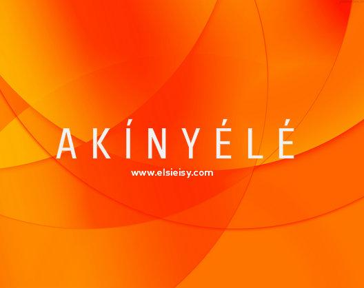 Akinyele - elsieisy blog