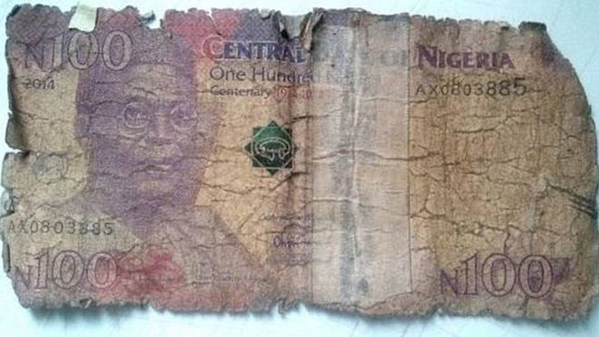 bad 100naira notes - elsieisy blog