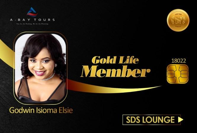 Elsie Godwin A-bay tours gold member card - elsieisy blog