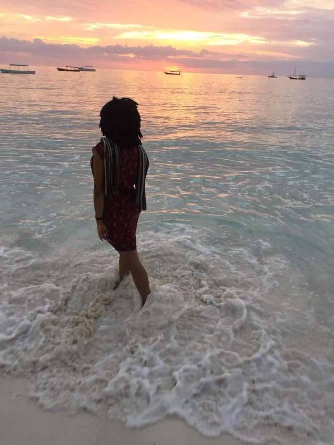 Elsie Godwin in the Sunset photo - North of Zanzibar - elsieisy blog